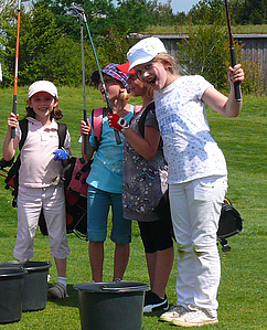 Kinder Golftraining